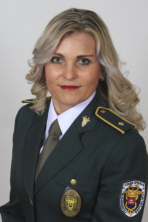 HSpokeswoman Customs Office Trnava, Iveta Zlochova